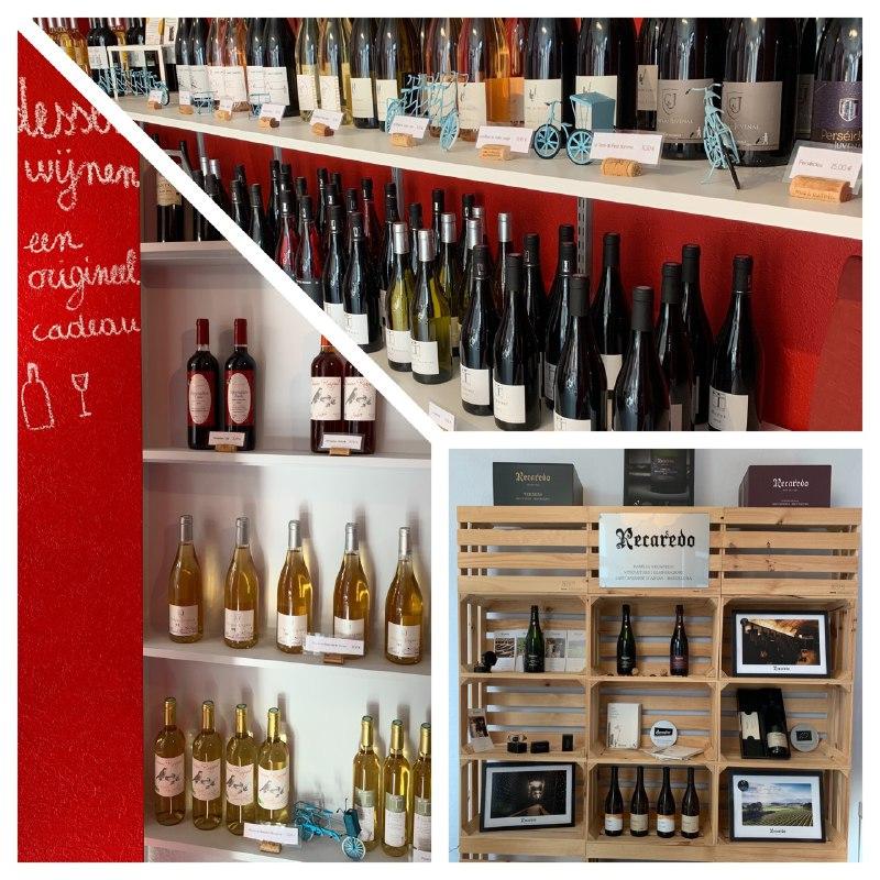 het aanbod van duurzame wijnen in de winkel